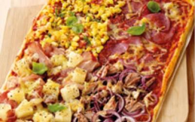 Pizzablech Vier Jahreszeiten