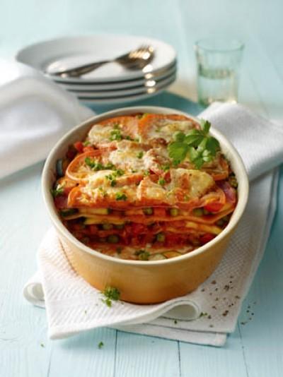 Lasagne Prosciutto e Salame