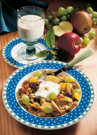 Vitamin-Müsli mit Chia