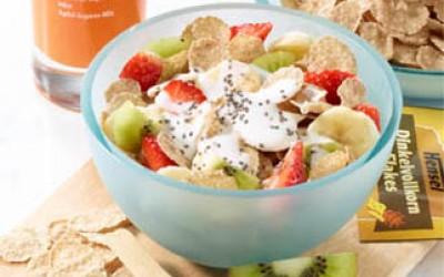 Knuspriges Frühstücks-Müsli