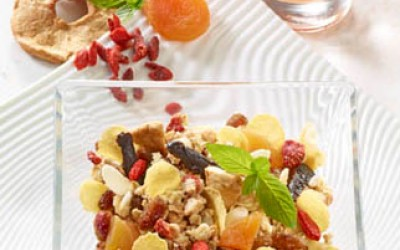 Trockenfrüchte-Müsli