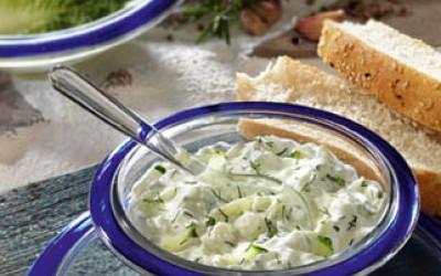 Tsatsiki mit Oliven