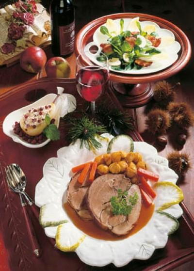 Weihnachtsmenü: Wildschwein in Rotwein-Marinade