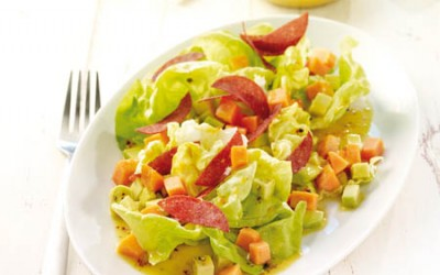 Avocado-Papaya-Salat